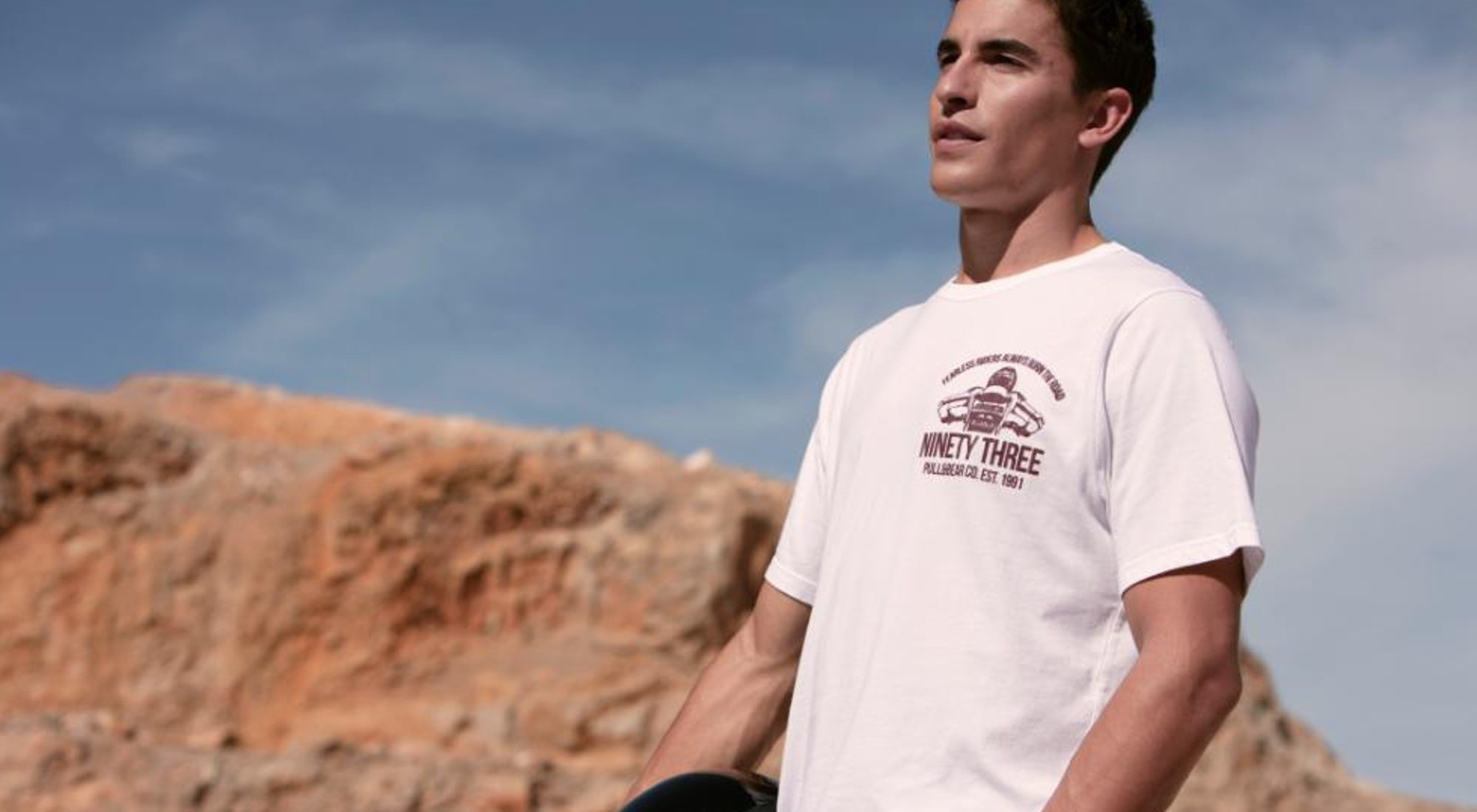 Marc Márquez presenta su nueva línea de ropa de Pull&Bear para este invierno