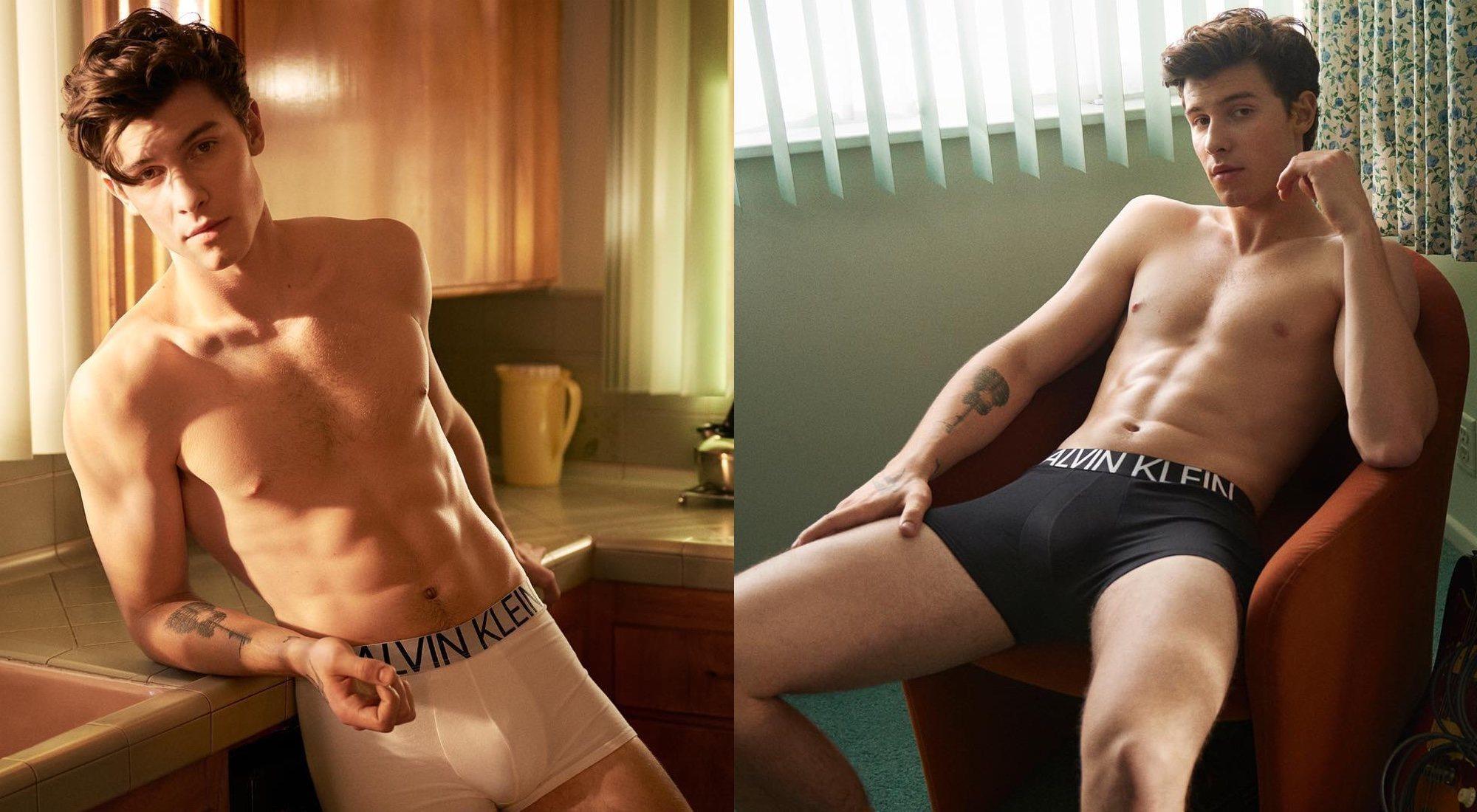 Cómo deberíamos sentirnos con las fotos de Shawn Mendes para Calvin Klein