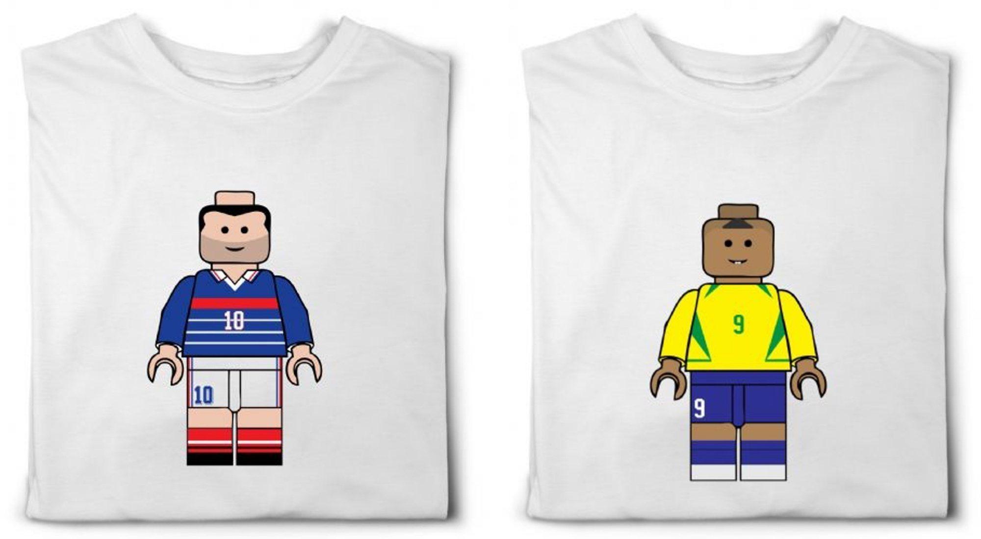 BrickBallers: las camisetas con la versión LEGO de futbolistas