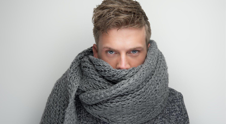 Las mejores bufandas de hombre para el otoño-invierno