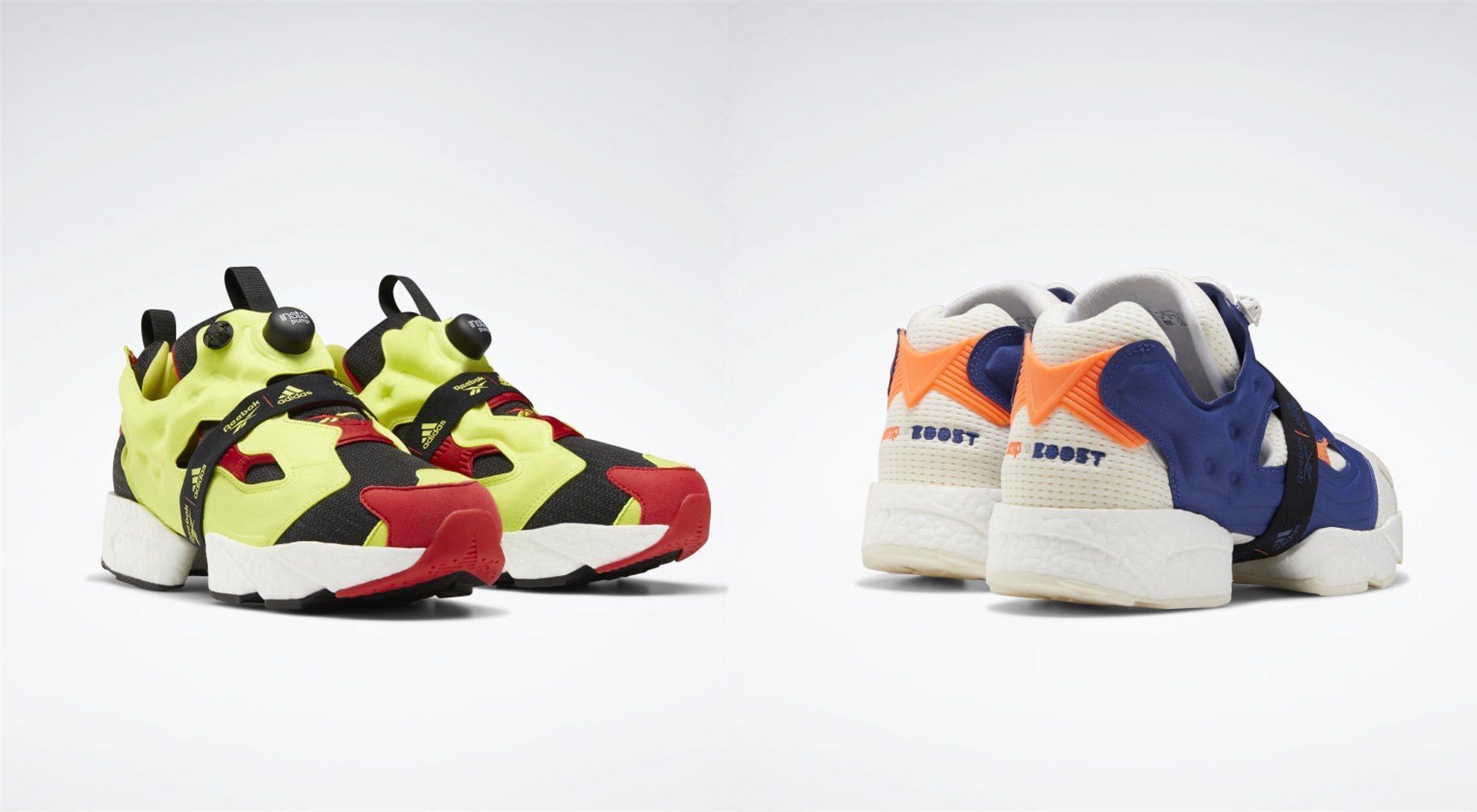 zapatos genuinos mejor 100% genuino Instapump Fury Boost', la unión de Reebok y Adidas - MENzig