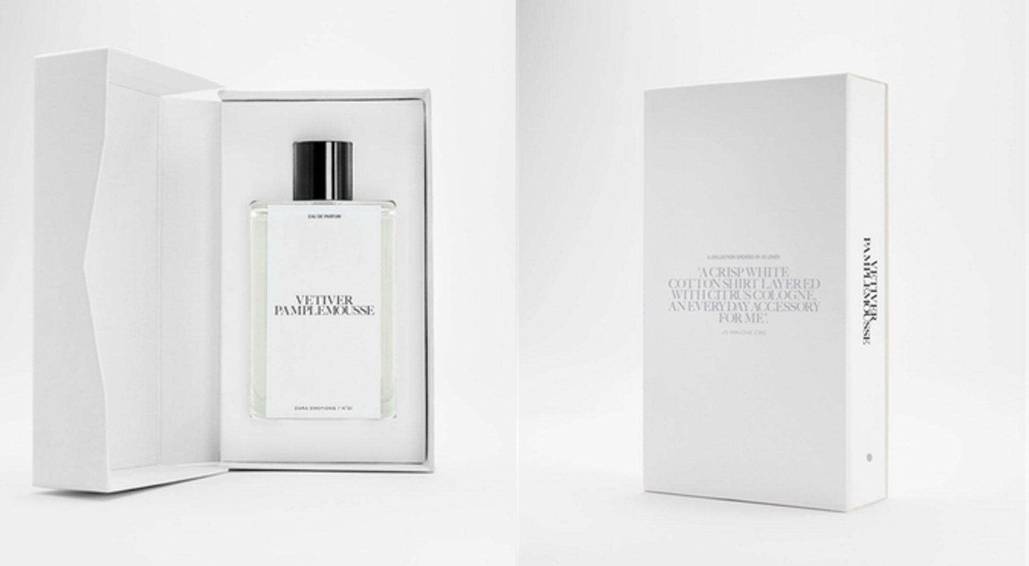 Zara Emotions by Jo Malone CBE: alta perfumería a precios competitivos
