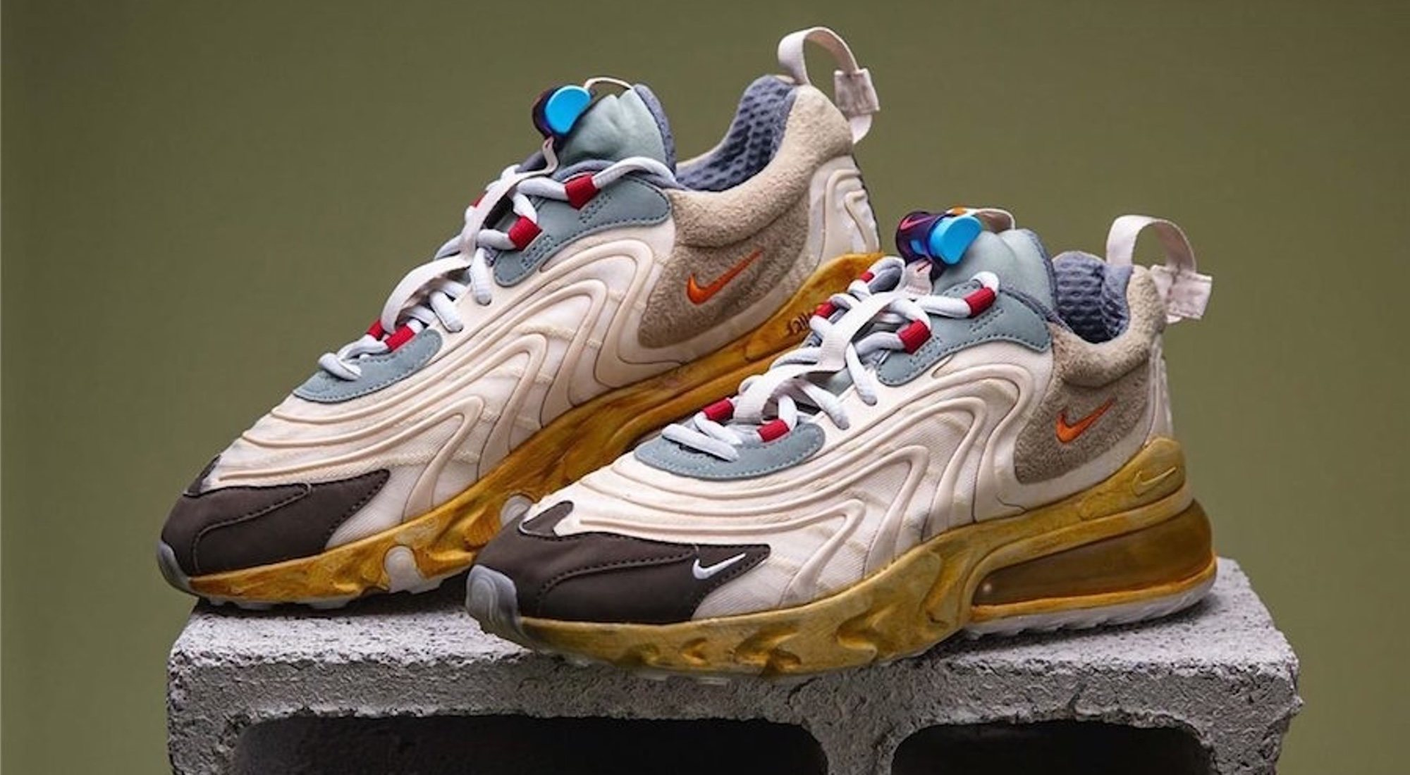 Air Max 270 React: la nueva unión de Travis Scott y Nike