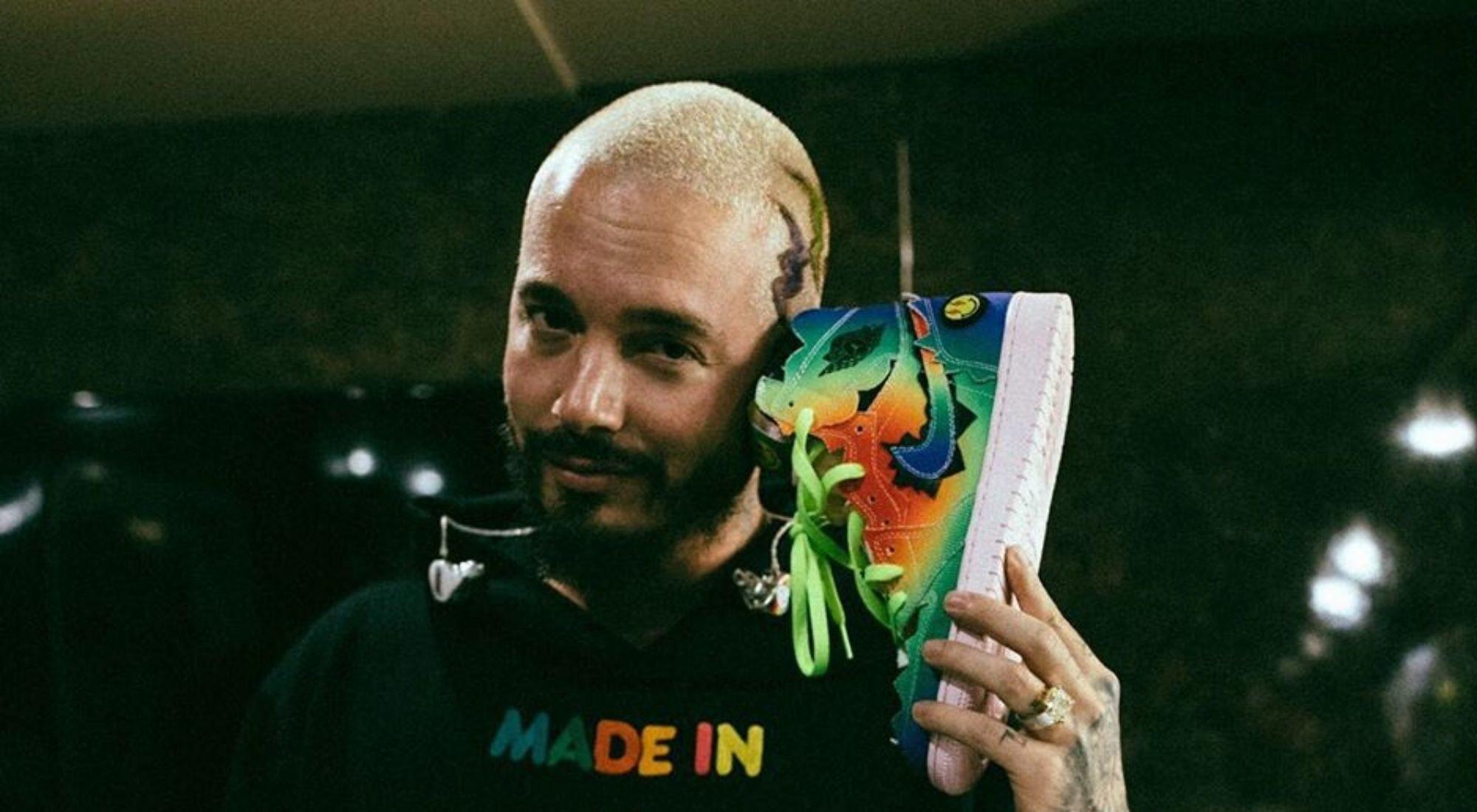 Nike Air Jordan 1 by J Balvin: la colaboración más colorida del año