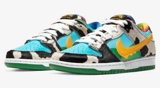 Colección Nike x Ben & Jerry's: las zapatillas que te dejarán helado