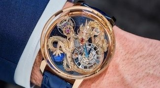 Jacob & Co. 'Astronomia Tourbillon Art Dragon' (2021), un reloj mitológico de leyenda