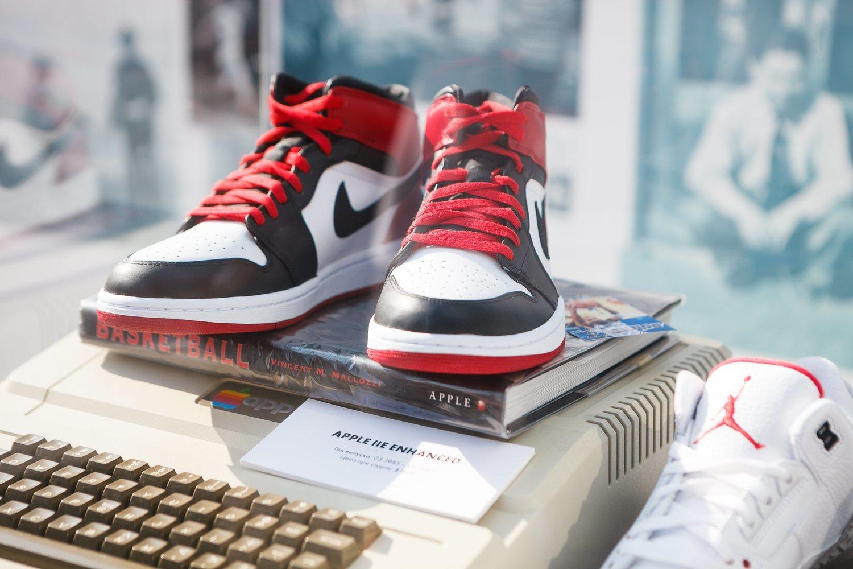 Las Nike Jordan Air Force 1, otro de los modelos de zapatillas capaz de superar los 1.000 euros en el mercado de segunda mano.