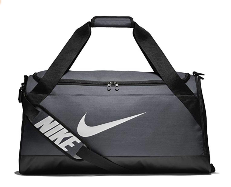 Bolsa de deporte Nike gris (disponibles otros colores).