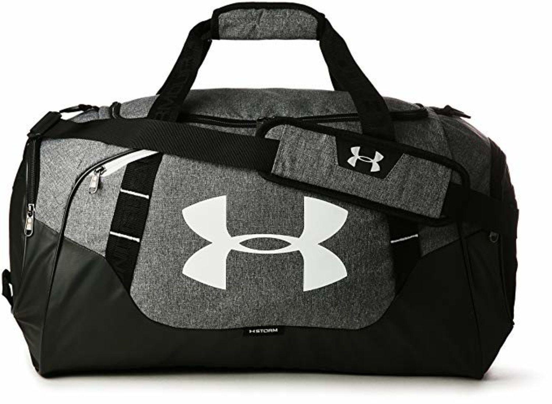 Bolsa de deporte Ander Armour gris y negra (más colores disponibles).
