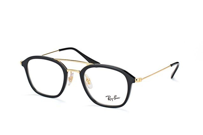 Estas gafas Ray-Ban son prácticamente cuadradas y llevan doble puente, ideales para caras redondas.