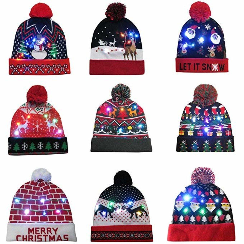 Los gorros son una de las prendas más vestidas en invierno. Evita un resfriado con estos diseños tan navideños.