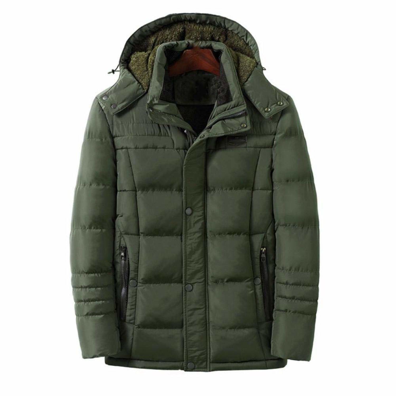 Este abrigo con calentamiento inteligente tiene una batería de larga duración. Además, es impermeable.