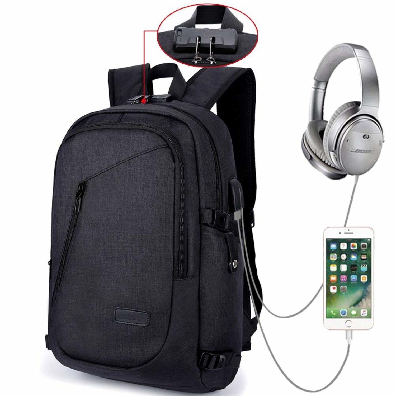 Además de los puertos de carga USB y MP3, el sistema antirrobo y la gran capacidad interior hacen de esta mochila un producto muy útil para la vida diaria de un estudiante, por ejemplo.