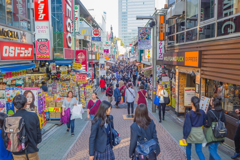 Calles de Harajuku, cuna de la cultura otaku