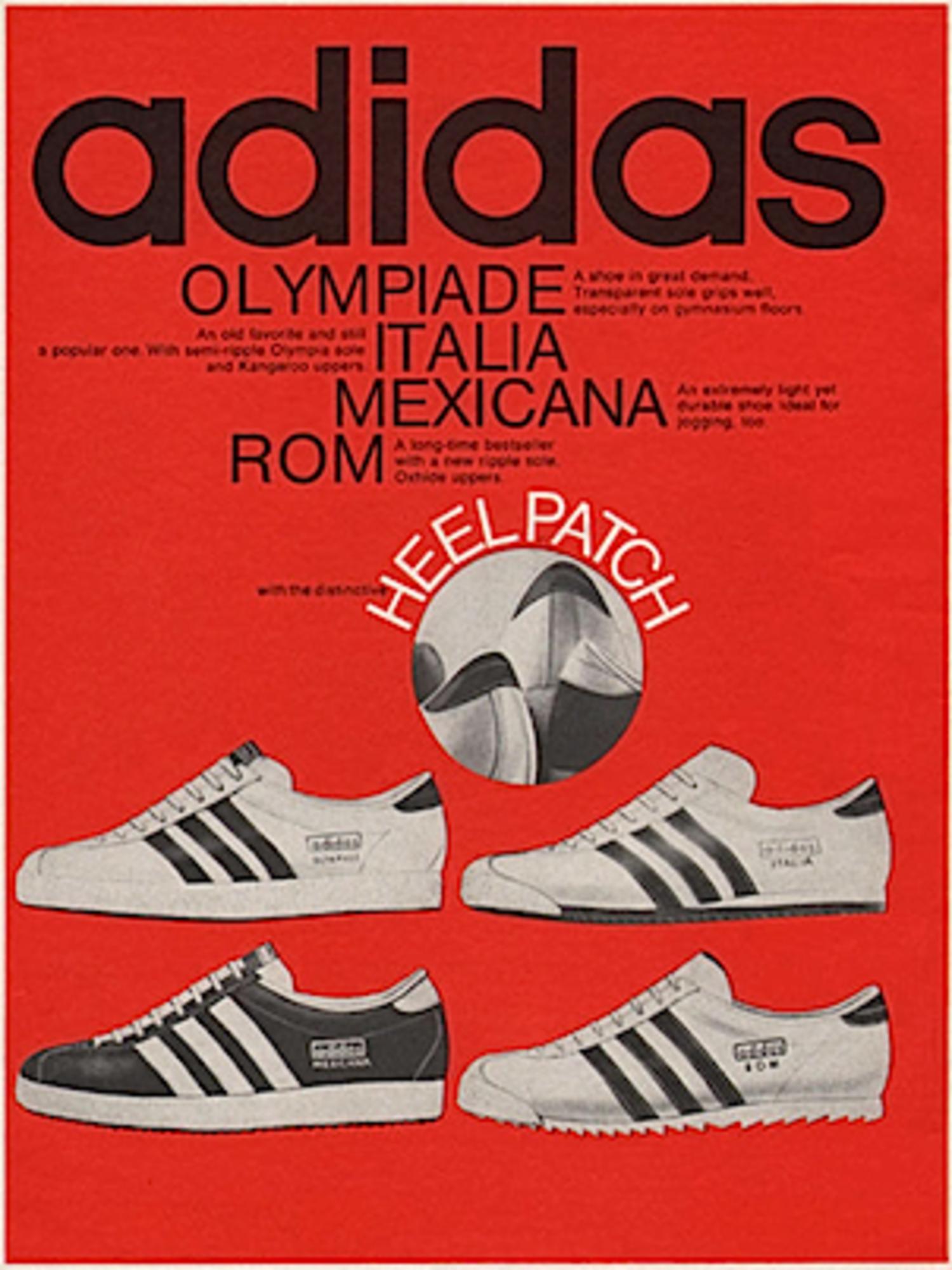 Las Adidas Olympia fueron lanzadas en la década de los 70. Actualmente son parte de la vestimenta 'casual'.