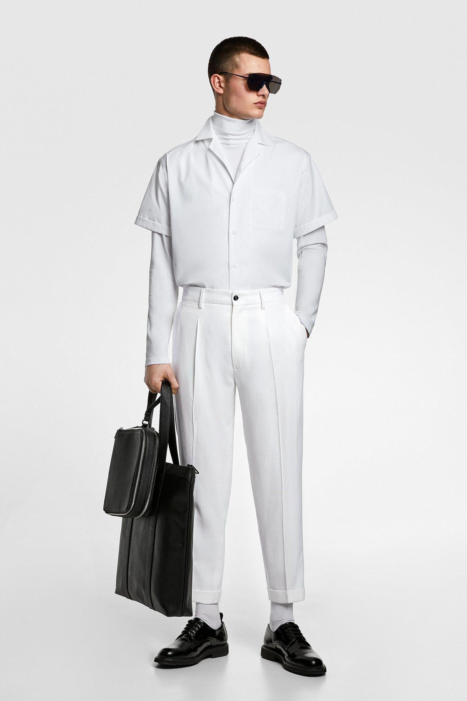 Total white, el look ideal para esta primavera.