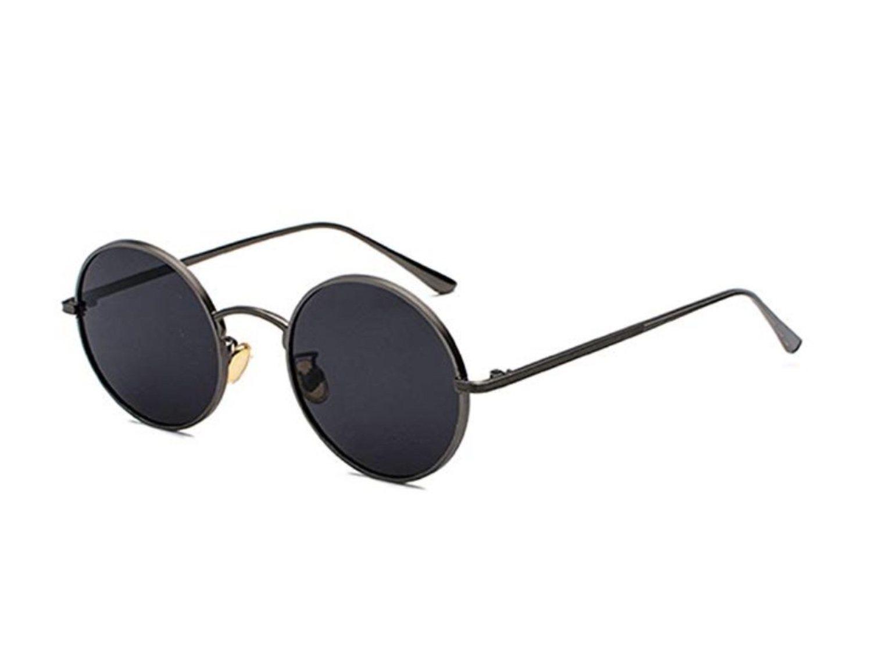Gafas de sol redondas negras (más colores disponibles).