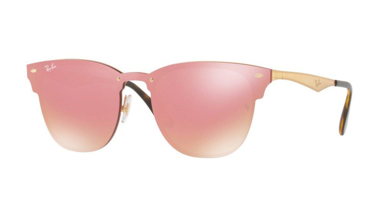 Gafas Ray-Ban rosa/rojo de la colección Blaze.