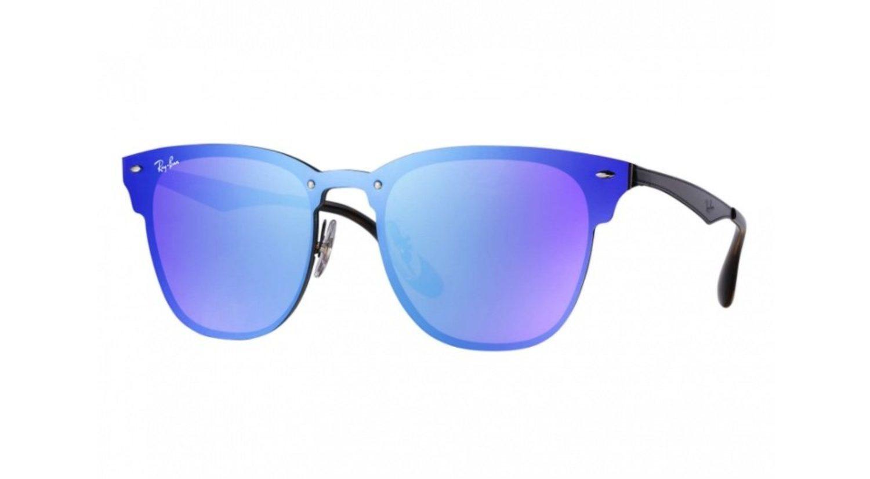 Gafas Ray-Ban azul/violeta de la colección Blaze.