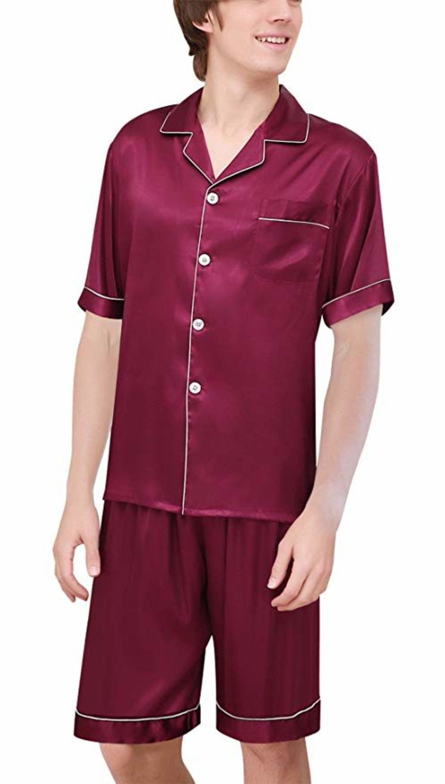 Un conjunto de seda es idóneo para los que siempre quieran dormir sin perder el estilo y, además, combatir el calor.