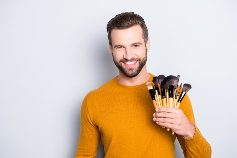 El maquillaje está cada vez más extendido entre los hombres.