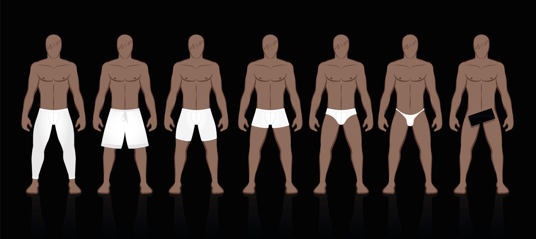 Hay calzoncillos de todos los tamaños. ¿Cuál llevas tú?
