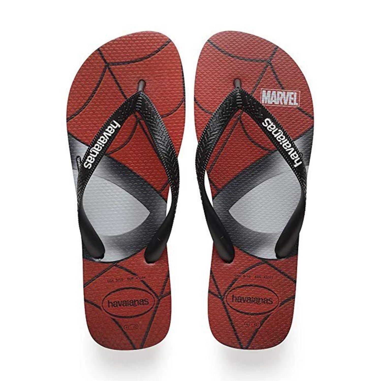 Flip-flops con Spiderman de Havaianas