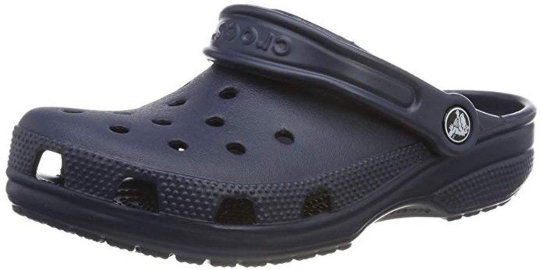 Cangrejeras de goma Crocs, de color azul marino