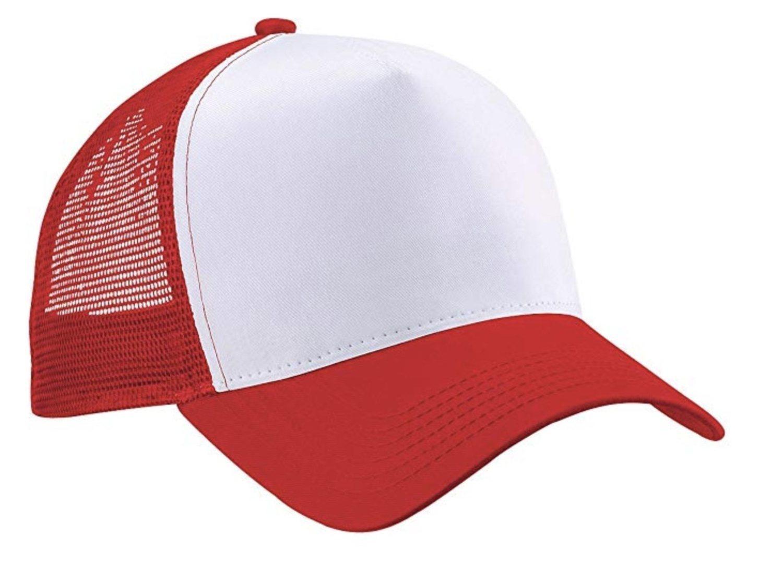 La gorra trucker de toda la vida, similar a las de béisbol (más colores disponibles).