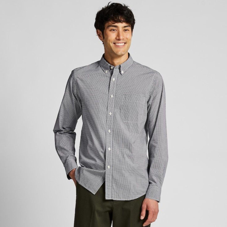 También tienen prendas más serias como esta camisa.