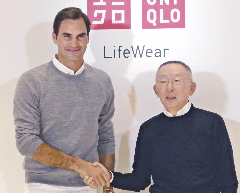 La firma de Roger Federer ha supuesto un salto para la marca.
