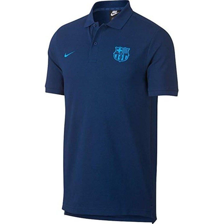 Polo FC Barcelona en diversos tonos de azul