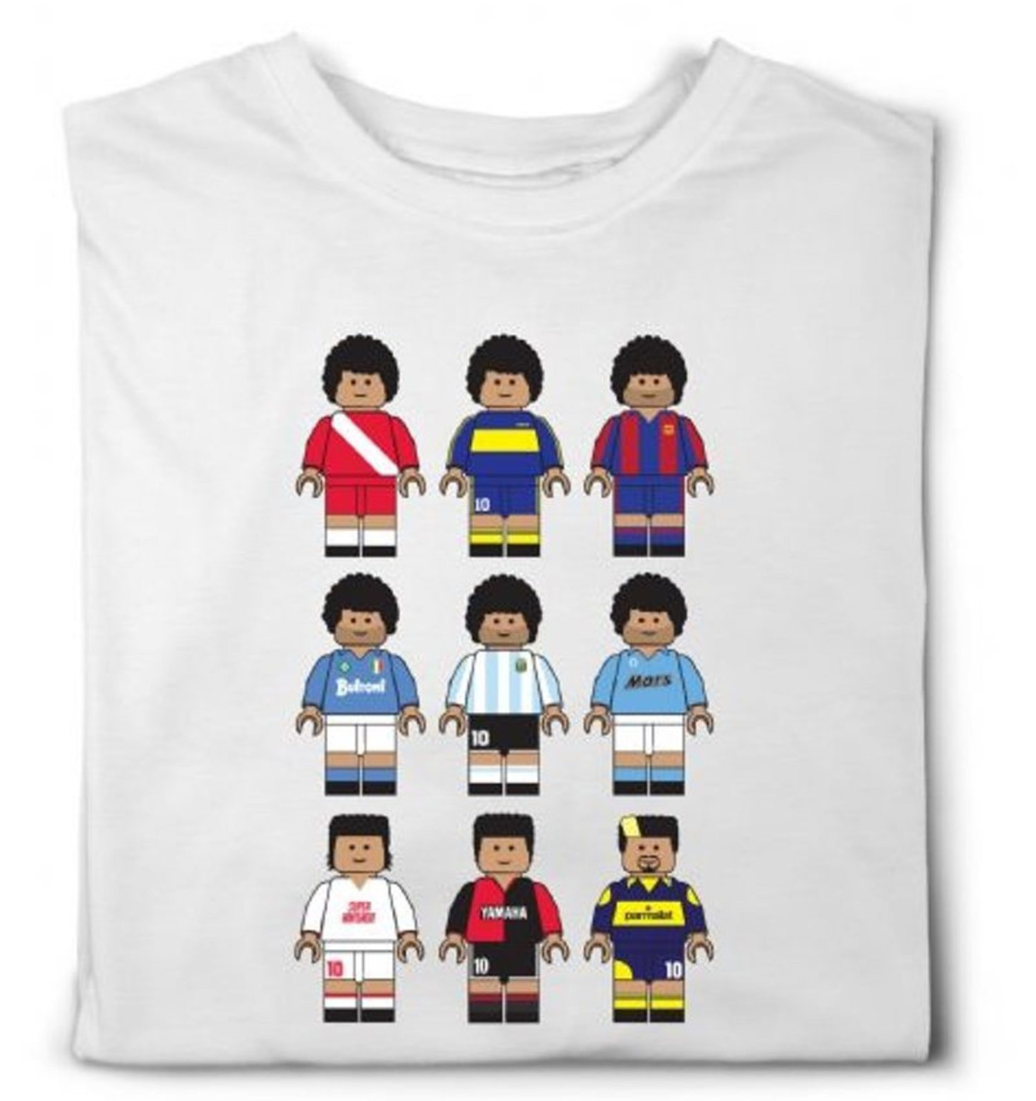 Maradona protagoniza la camiseta más vendida de la marca