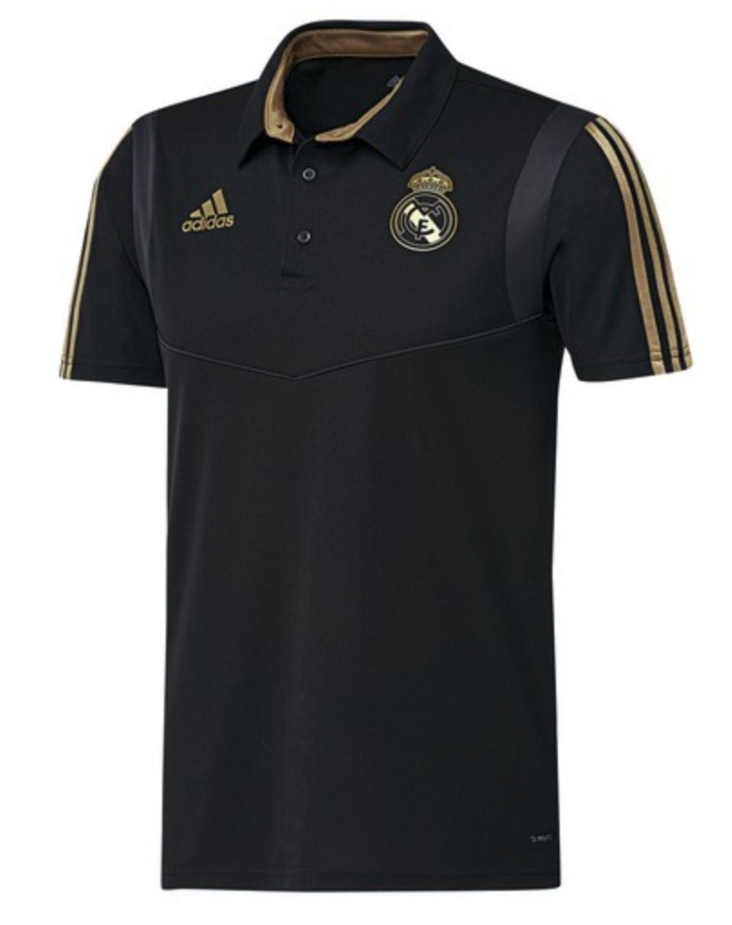 Este año los polos del Real Madrid serán negros y dorados