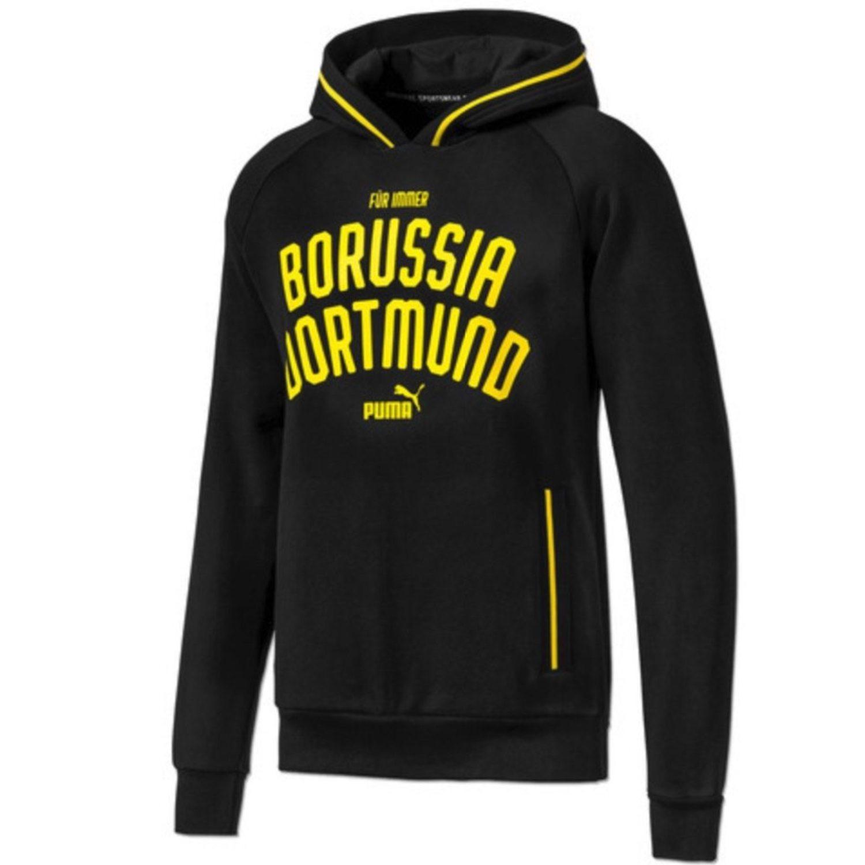 Sudadera negra y amarilla con bolsillos Borussia Dortmund