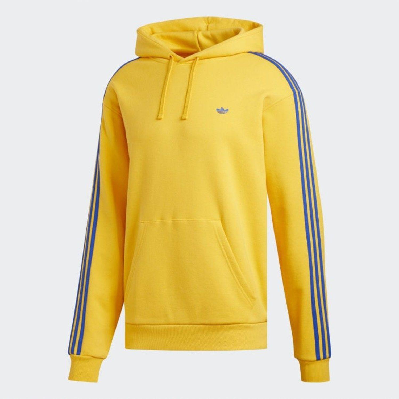 Sudadera lisa con bolsillo de canguro marca Adidas