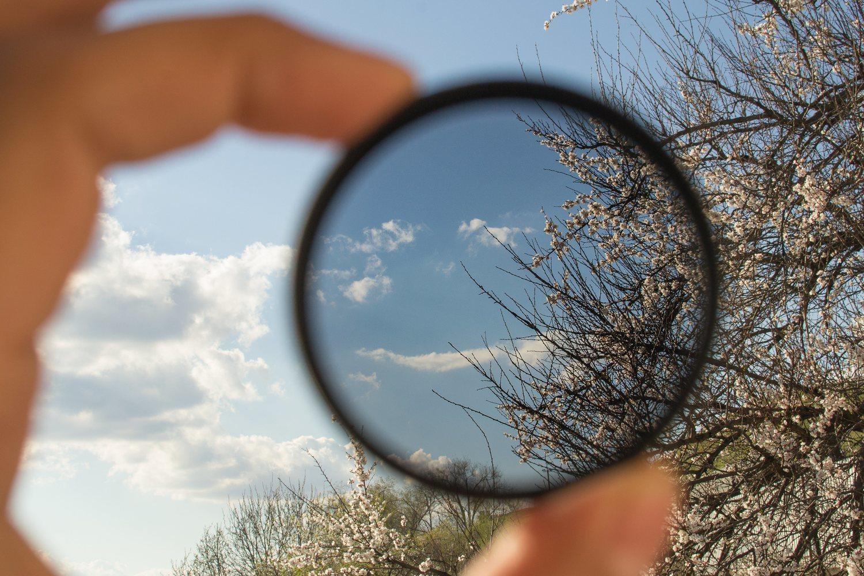La lente polarizada mejora la nitidez y elimina los brillos incómodos.