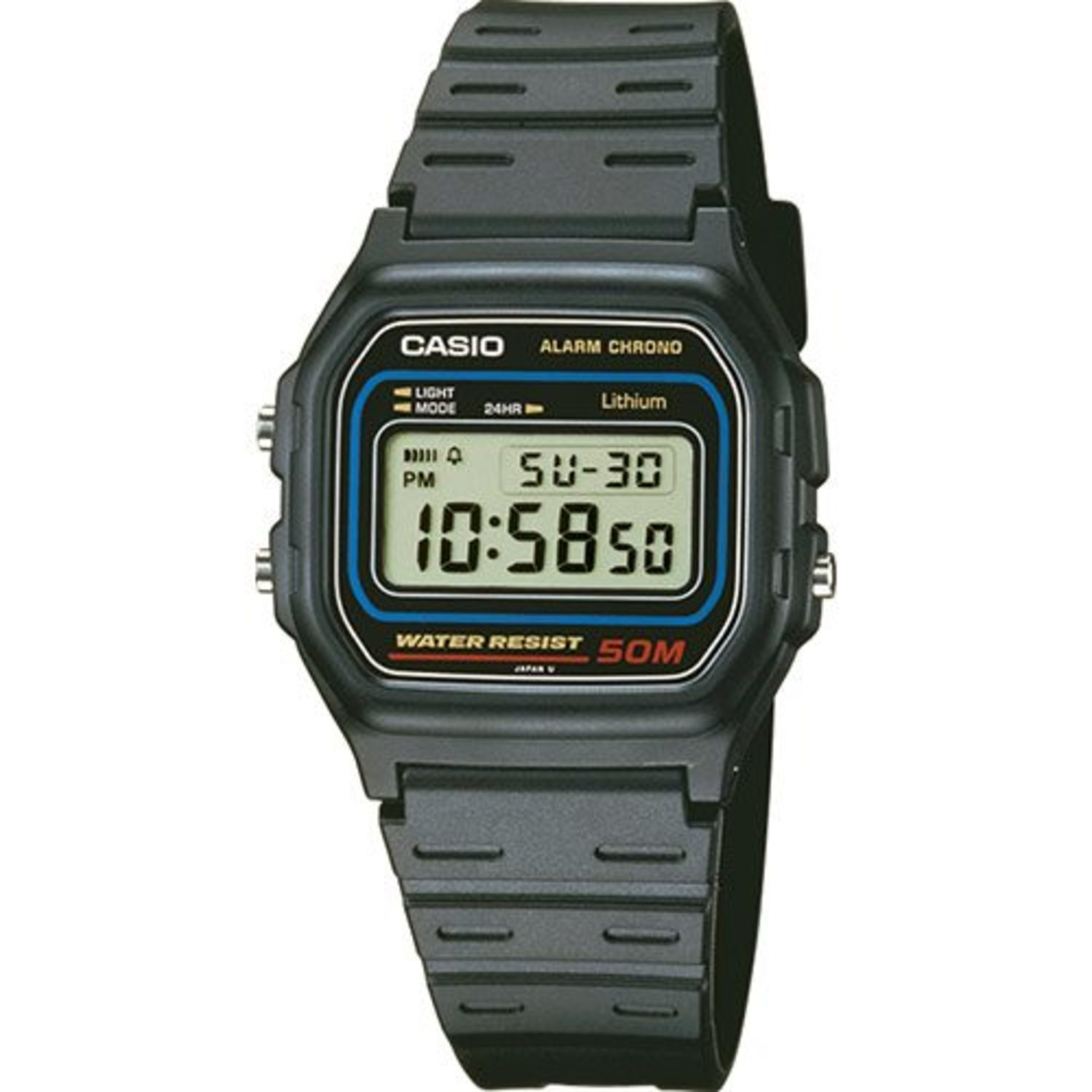 Casio Collection W-59-1VQES Digital
