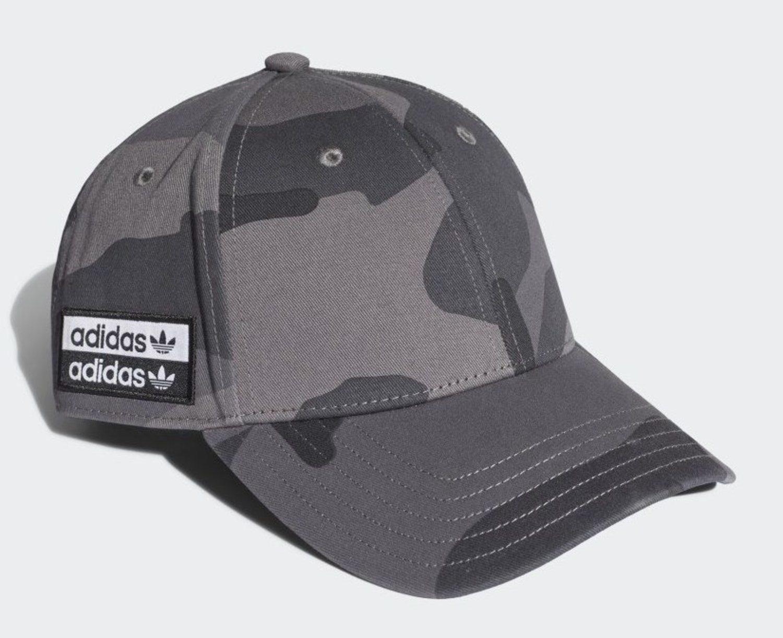 Gorra trucker 'camo' de Adidas.