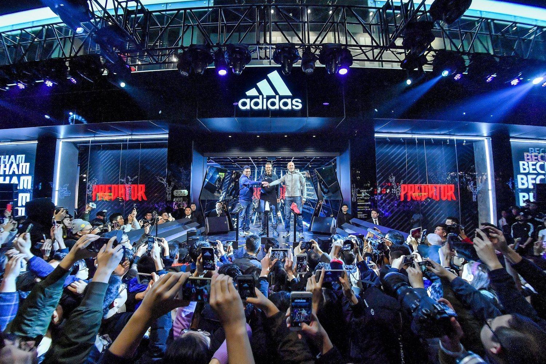 Adidas es hoy una de las multinacionales más poderosas del mundo.