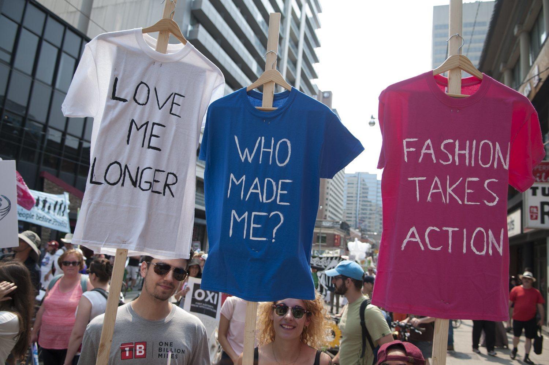 La conciencia social con respecto a la moda sostenible es cada vez mayor.