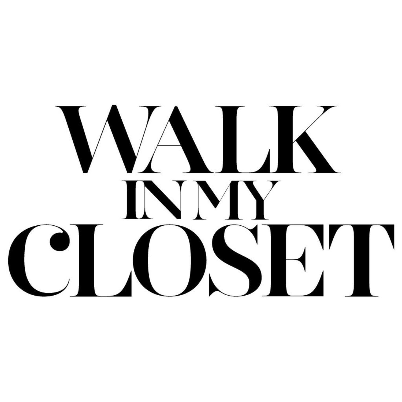 Logo de Walk In My Closet, nuestro (otro) estilista personal.