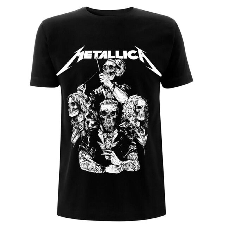 Camiseta del grupo Metallica.