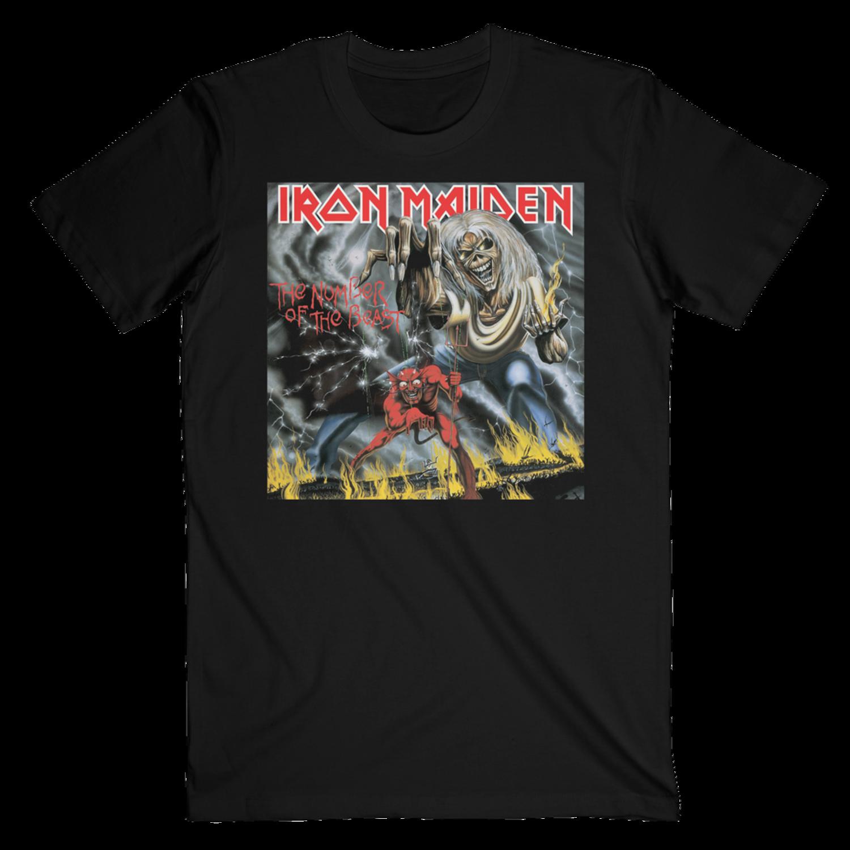 Camiseta del grupo Iron Maiden.