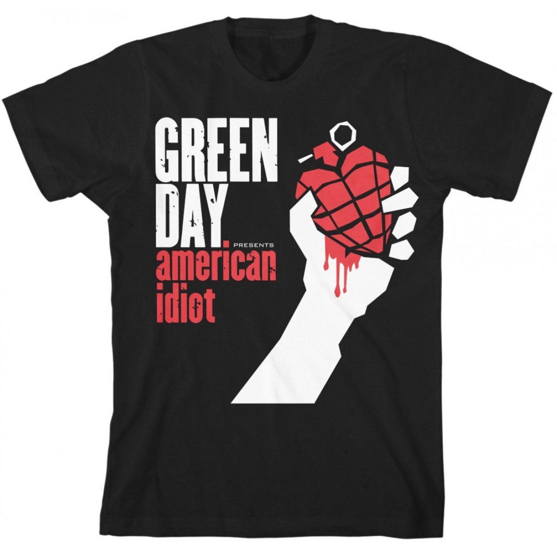 Camiseta Green Day.