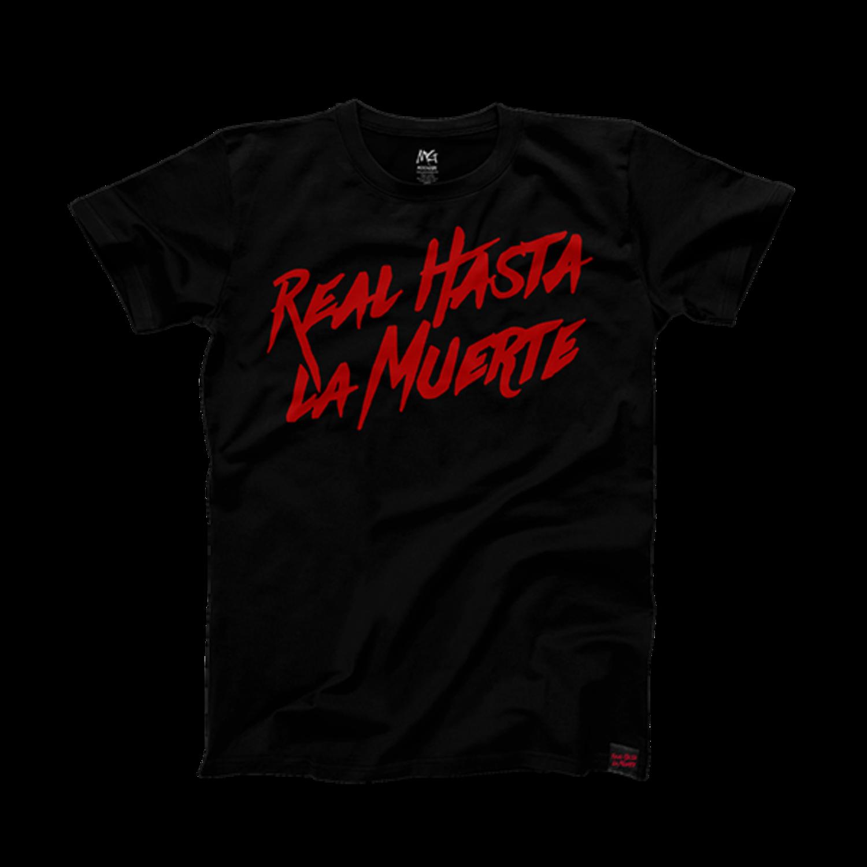 Camiseta Anuel AA, 'Real hasta la muerte'