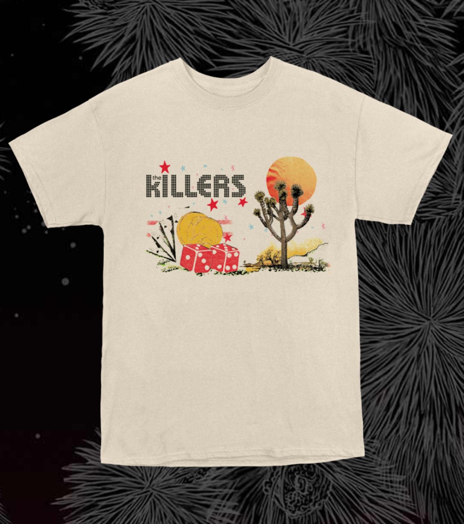 Camiseta The Killers.