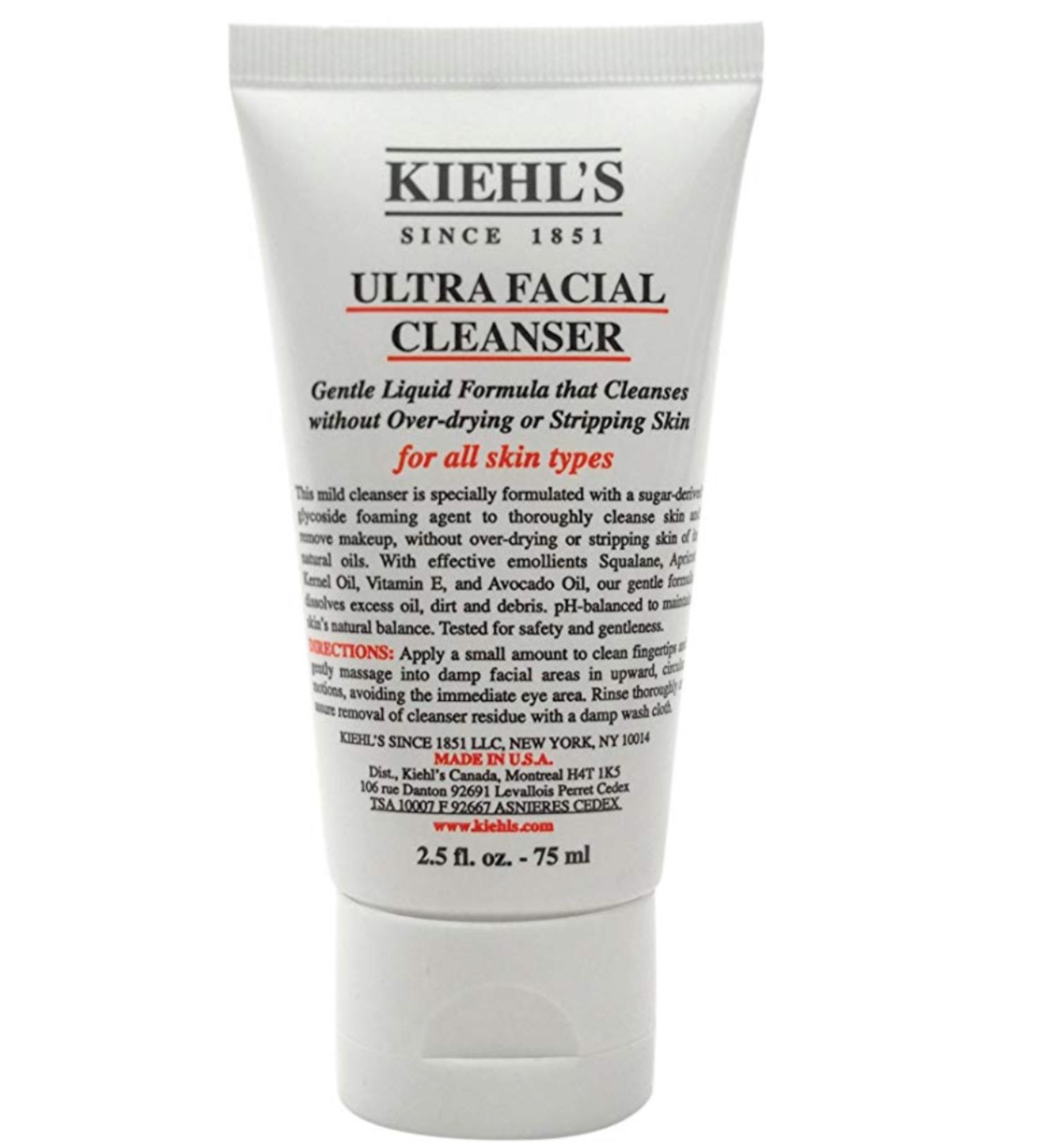 Limpiador facial Kiehl's.