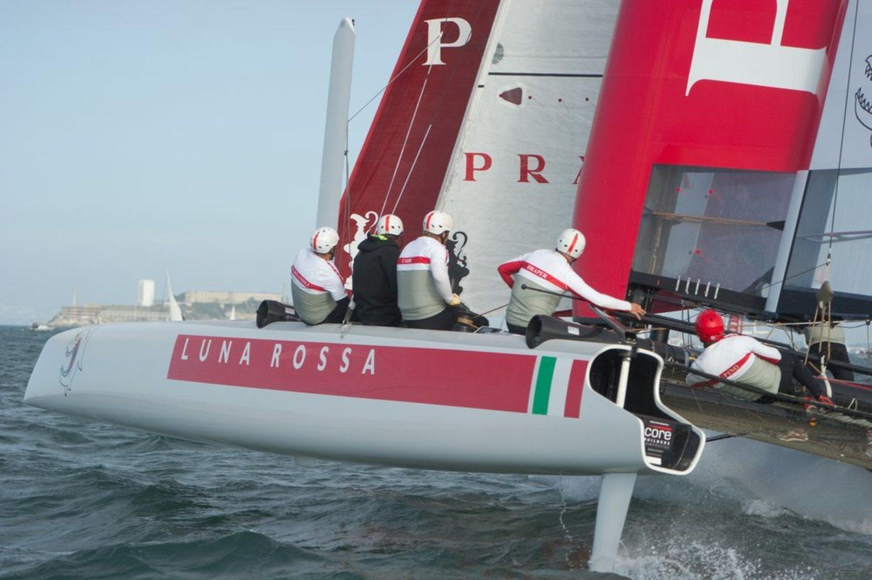Luna Rossa es el equipo de vela de Prada.