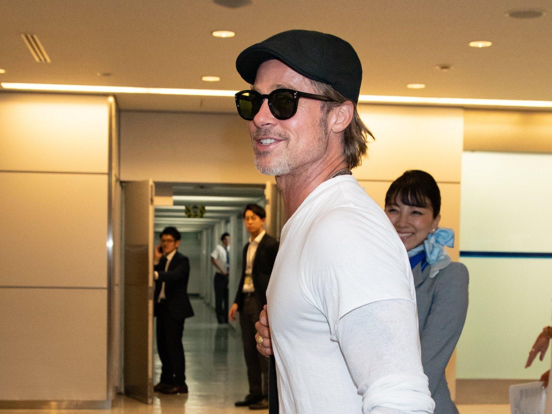 Brad Pitt con gorra 'Ivy'